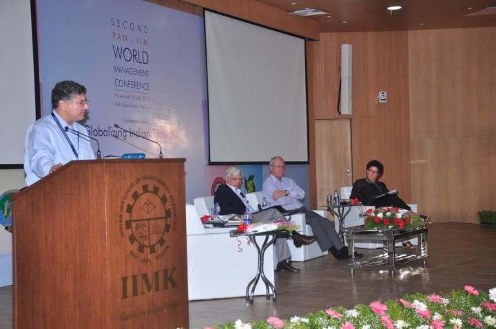 1. Prof. Ashish Nanda, Director IIM Ahmedabad; Mr. Ravi Kant, Chairman IIM Rohtak; Prof. John Wilson, Director New Castle University B-School; Prof Alexandre Bailly, Ex-Dean ESCP Paris