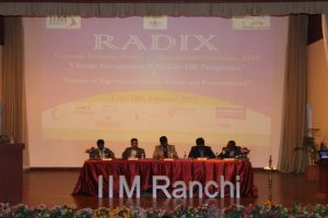 Panel Discussion_Left2Right_Mr.Sastry,Mr.Bhattacharya,Pro.Bala,Prof.Kumar,Mr.Das
