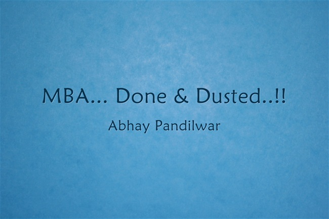 MBA-Done-Dusted