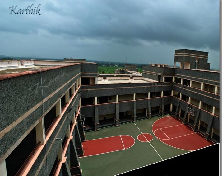 4 basketball court