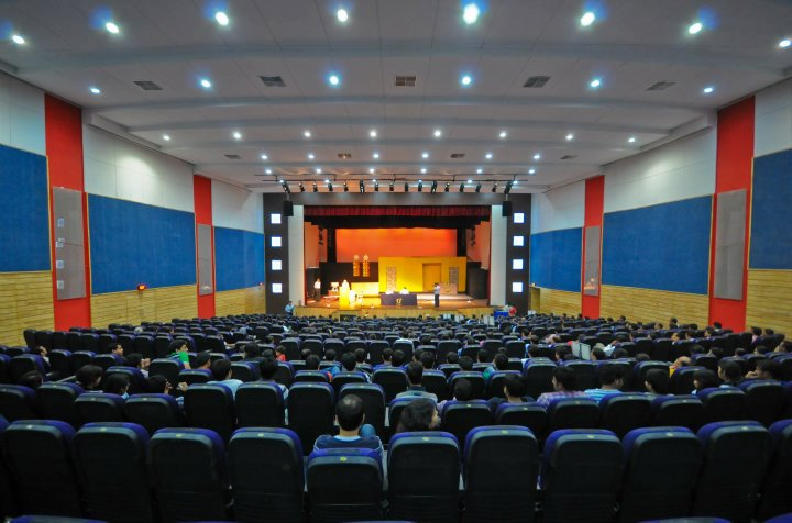 7 auditorium interior
