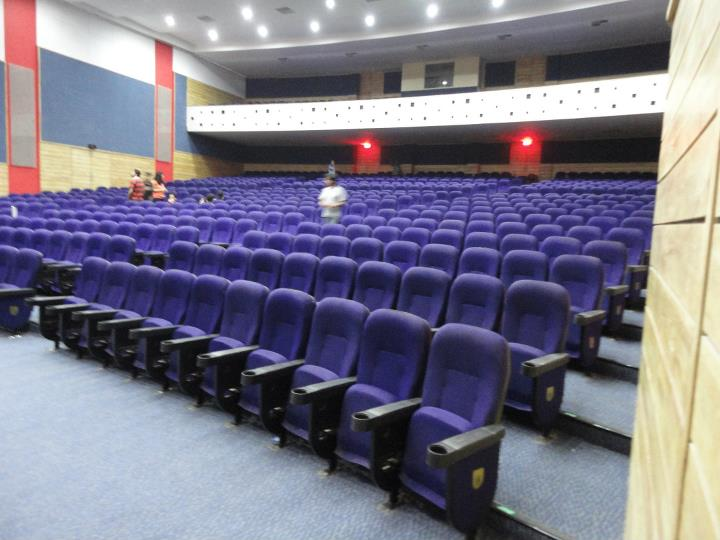 8 movie auditorium