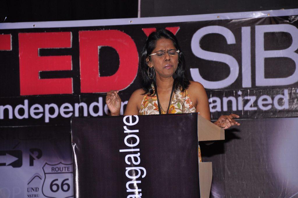 Mahalakshmi Iyer at TEDxSIBMB