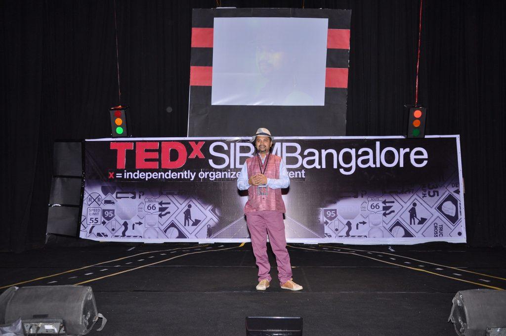 Soumik Sen at TEDxSIBMB