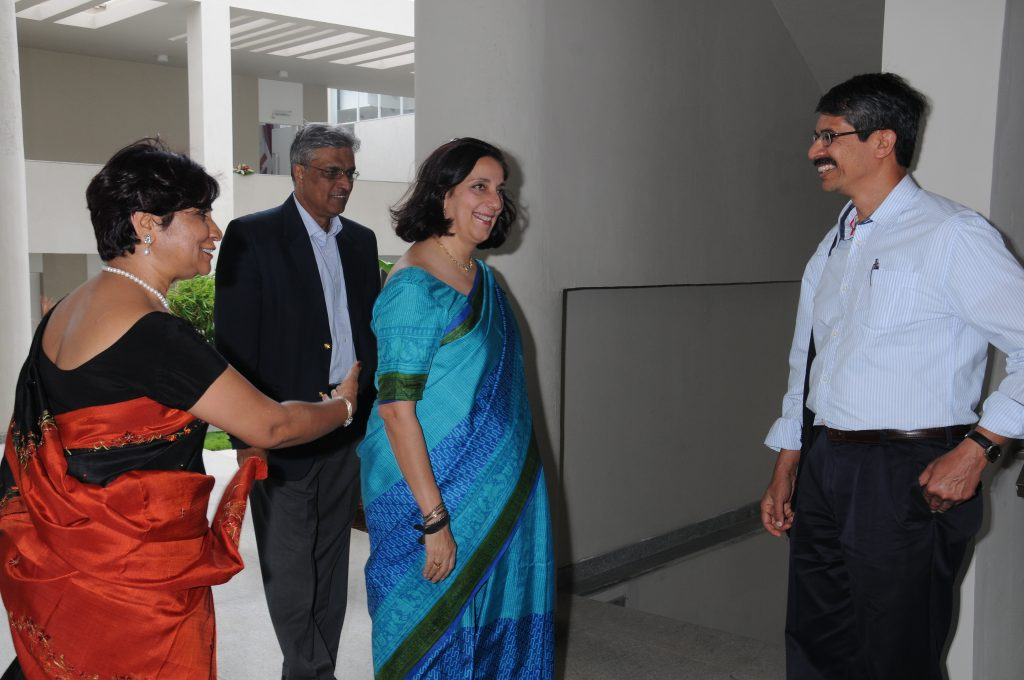 Dr.ShaliniUrs, Chairperson-Mrs.MeeraSanyal,Chairperson,RBS-Dr.RaghavRao-FacultyofInformationSystems