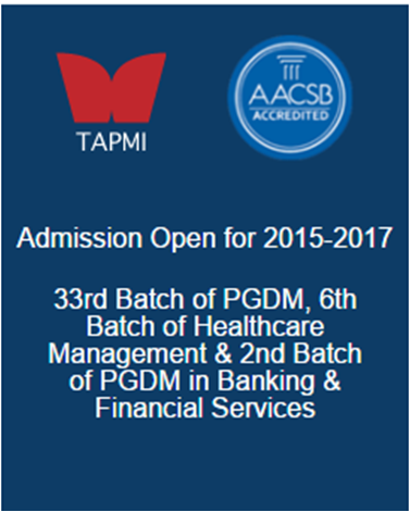 TAPMI Banner
